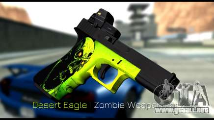 Zombie Weapon Pack para GTA San Andreas