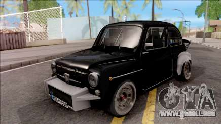 Fiat Abarth 1000TC Rally para GTA San Andreas