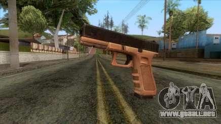 Glock 17 v1 para GTA San Andreas
