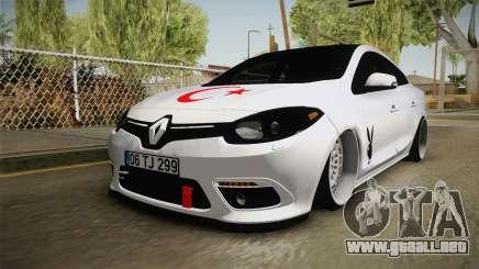 Renault Fluence PlayBoy para GTA San Andreas