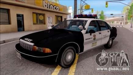 Chevrolet Caprice Police LSPD para GTA San Andreas