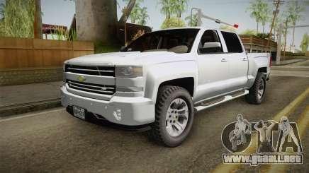 Chevrolet Cheyenne LT 2016 para GTA San Andreas