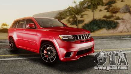Jeep SRT 8 TrackHawk para GTA San Andreas