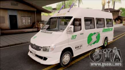 Mercedes-Benz Sprinter Renetur para GTA San Andreas
