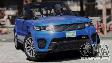 2014 Range Rover Sport SVR 5.0 V8 para GTA 5