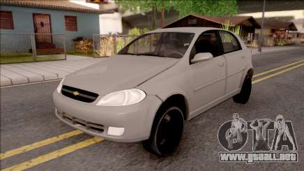 Chevrolet Aveo v2 Sin Sonido Version Sencilla para GTA San Andreas