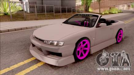 Nissan 200SX Cabrio Drift Monster Energy v2 para GTA San Andreas