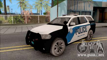 Dodge Durango 2011 Los Santos Police Department para GTA San Andreas