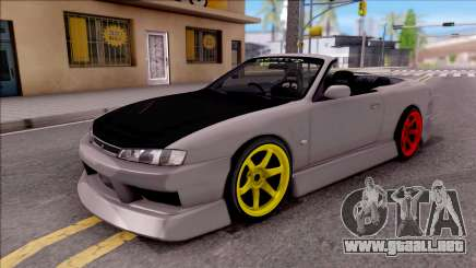 Nissan 200SX Cabrio Drift Monster Energy para GTA San Andreas