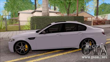 BMW M5 F10 M Performance para GTA San Andreas left