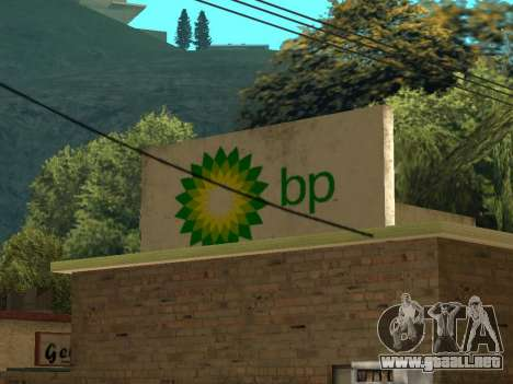BP Gas Station para GTA San Andreas tercera pantalla