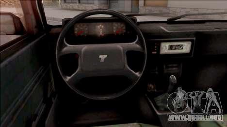Tofas Sahin v2 para visión interna GTA San Andreas