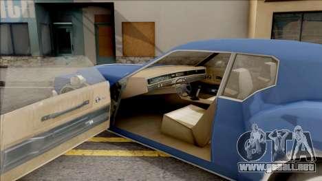 Driver PL Cerva para visión interna GTA San Andreas