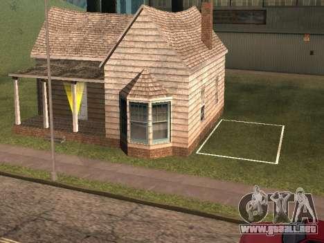 Parking Save Garages para GTA San Andreas quinta pantalla