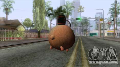 Sheep Grenade para GTA San Andreas segunda pantalla