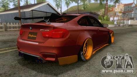 BMW M4 F82 GTS LB Performance 2015 para GTA San Andreas