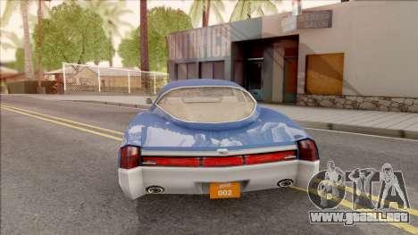 Driver PL Cerva para GTA San Andreas vista posterior izquierda