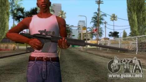 PSG1 Sniper Rifle para GTA San Andreas tercera pantalla