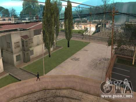 Parking Save Garages para GTA San Andreas sucesivamente de pantalla
