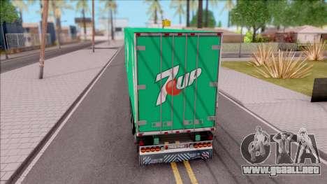 Remolque 7up para GTA San Andreas left