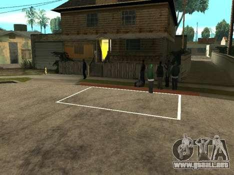 Parking Save Garages para GTA San Andreas segunda pantalla