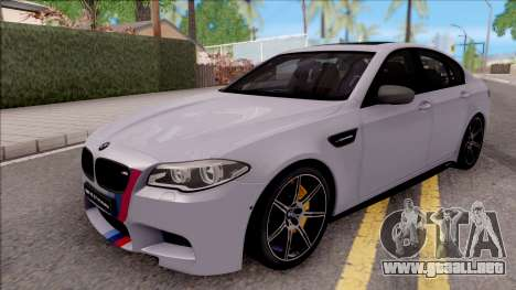BMW M5 F10 M Performance para GTA San Andreas