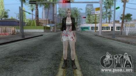 Jill Valentine Dress v1 para GTA San Andreas