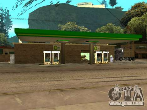 BP Gas Station para GTA San Andreas segunda pantalla