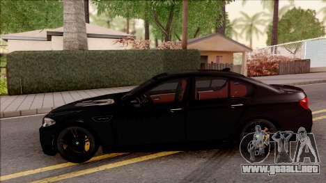 BMW M5 F10 Nighthawk para GTA San Andreas left