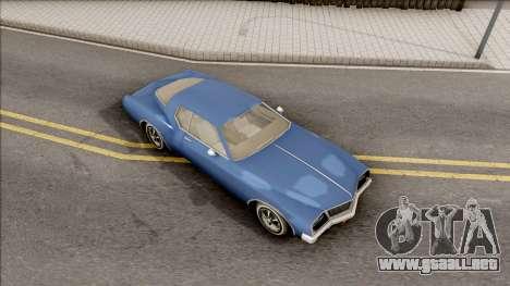 Driver PL Cerva para la visión correcta GTA San Andreas