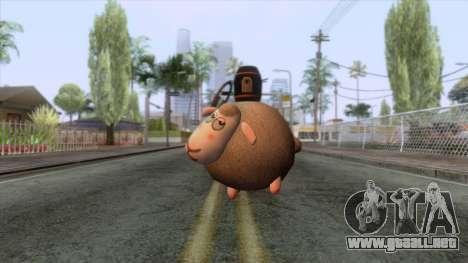 Sheep Grenade para GTA San Andreas