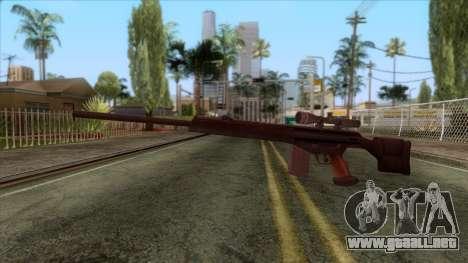 PSG1 Sniper Rifle para GTA San Andreas