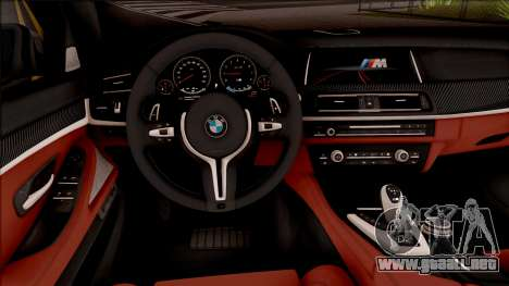 BMW M5 F10 Nighthawk para visión interna GTA San Andreas