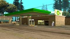 BP Gas Station para GTA San Andreas