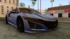 Acura NSX 2016 IVF para GTA San Andreas