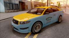 GTA V Vapid Unnamed Taxi para GTA San Andreas