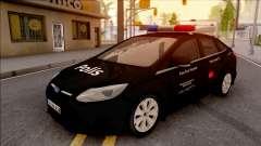 Ford Focus De Operaciones Especiales De Vehículos Civiles para GTA San Andreas