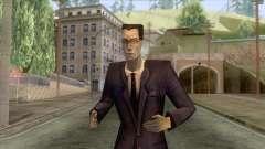 Half-Life - G-Man para GTA San Andreas
