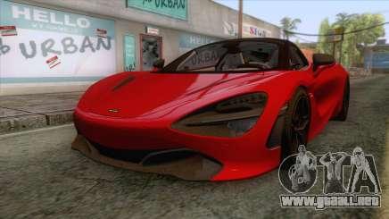 McLaren 720S 2017 v1 para GTA San Andreas