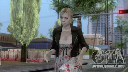 Jill Valentine Dress v1 para GTA San Andreas