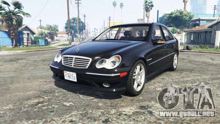 Mercedes-Benz C32 AMG (W203) 2004 [add-on] para GTA 5