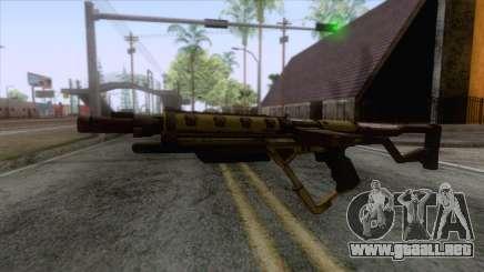 Evolve - Submachine Gun para GTA San Andreas