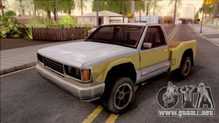 Yosemite Lite Wooden Trunk para GTA San Andreas