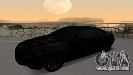 BMW M3 E92 GTR Black Camo para GTA San Andreas
