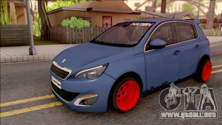 Peugeot 308 STANCE NATION para GTA San Andreas