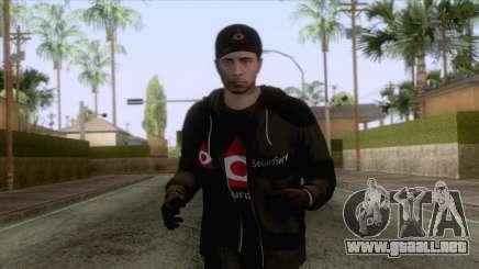 SecuroServ Skin 1 para GTA San Andreas