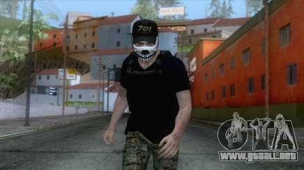 Skin De Sicario para GTA San Andreas