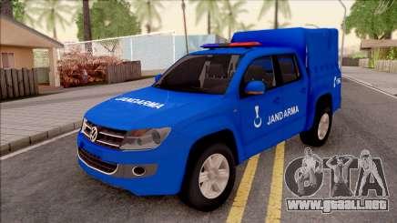 Volkswagen Amarok Turkish Gendarmerie Vehicle para GTA San Andreas