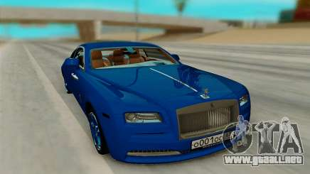 Rolls Royce Wraith para GTA San Andreas
