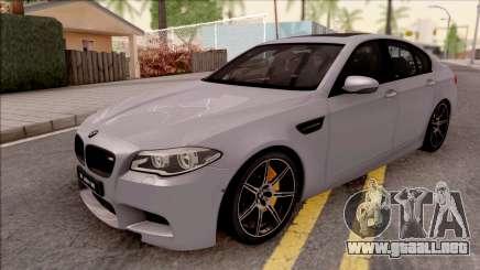BMW M5 F10 30 Jahre para GTA San Andreas